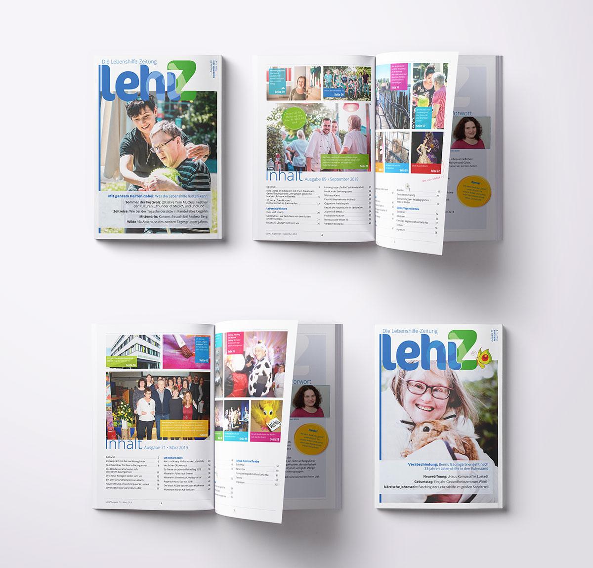 LehiZ - die Zeitung der Lebenshilfe