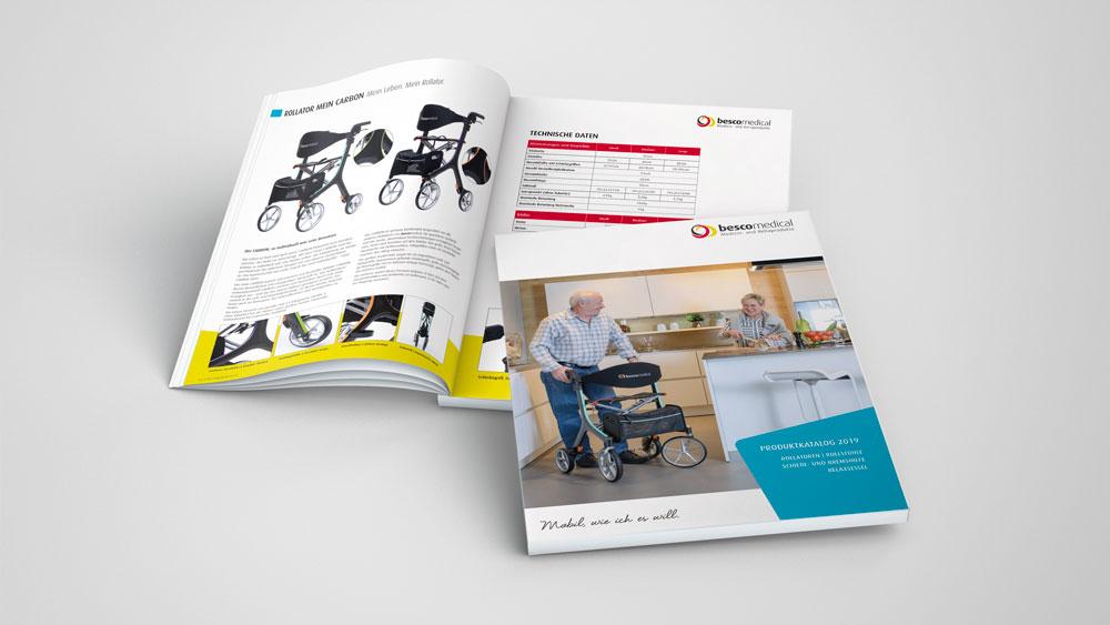 Katalog Bescomedical Medizin- und Rehaprodukte