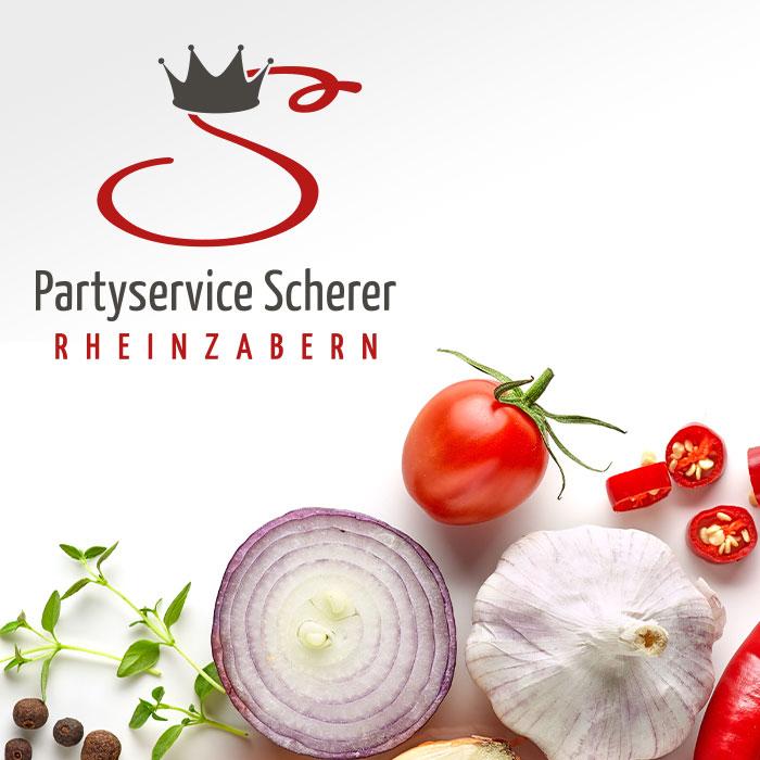 Referenz Partyservice Scherer